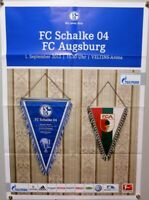Offizielles Spielplakat + 01.09.2012 + BL + FC Schalke 04 vs. FC Augsburg #13