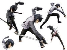 Anime Naruto Figure Jouets Uchiha Sasuke Naruto Figurine Statues 17cm