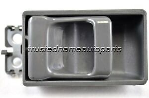 fits Nissan Interior Inside Inner Door Handle Driver or Passenger Side Gray
