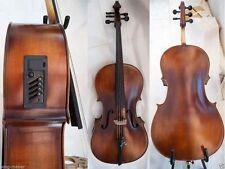 New Electric Cello 4/4 5string  Acoustic Cello Nice Sound Solid ebony parts #EC1