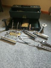 VINTAGE MEDICAL CASE CONTAINING VINTAGE THACKRAY OBSTETRIC INSTRUMENTS