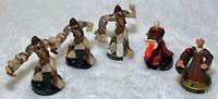 Star Wars 2005 Hasbro Attacktix Battle Game Figures Lot of 5 Palpatine Tarfful