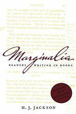 Marginalia: Readers Writing in Books (Yale Nota Bene) vo... | Buch | Zustand gut