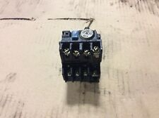 Mitsubishi  Overload Relay, TH-K12, 2.8 -4.4 A Range, Used, Warranty