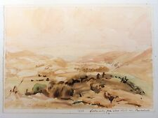 Vernon Wethered (1865–1952) landscape watercolour, Lorton Valley, Cumberland.