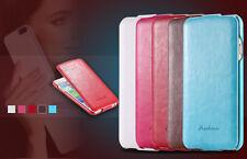 iPhone 5s/5 Farbe Pink Schutzhülle Leder Case Flip Klappe edle Luxus Aus 🇩🇪 1A