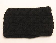 New women's knit headband crochet winter warmer lady hairband Hair Band Ear Muff