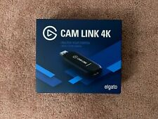 Elgato Cam Link 4K HDMI Capture Device Black Brand New Sealed
