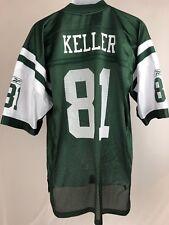 New York Jets Mens XL Dustin Keller Jersey NFL NWT Green
