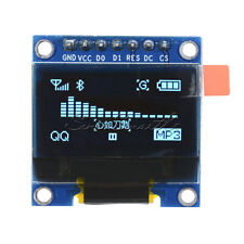 4/7Pin I2C SPI 0.91/0.95/0.96/0.66/1.3 inch OLED LCD LED RGB Blue Yellow/White