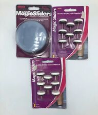 Magic Sliders Gliders Plastic Furniture Chairs Friction Fighter Glides