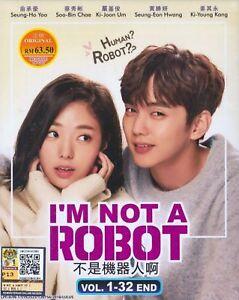 Korean Drama DVD I'm Not A Robot 不是機器人啊 (2018) English Subtitle