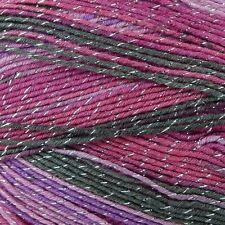 Knitting Wool 100g Party Glitz 4ply Yarn Sparkle Christmas Yarn King Cole Fairy 2352