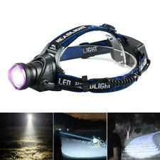 10000LM CREE XM-L T6 LED Headlamp Tactical Headlight Flashlight rechargeable、G9D