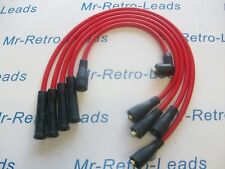 RED 8.5MM PERFORMANCE IGNITION LEADS FOR THE FIESTA MK1 950 1.1 QUALITY LEADS