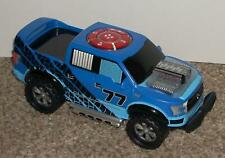 Kid Galaxy Ford F-150 Raptor Truck 77 Blue Electronic Rolls Lights & Sounds Toy