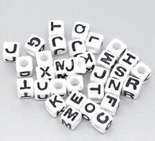 """Großloch-Buchstaben-Perle """"Y"""" aus Acryl 20 Stück 5x6mm"""