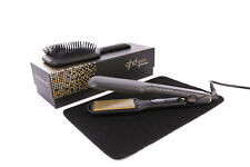 GHD V Gold Max Hair Straightener Styler -With a Heat Mat- Free GHD Paddle Brush