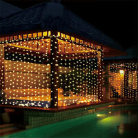 300 LED Fairy String Curtain Light for New Year Christmas Party Wedding Decor