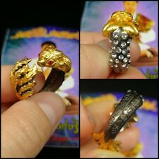 Sz 8-9 Lady Fox 9 Tails Ring Thai Amulet Attract Charm Love Spells Magic Wicca