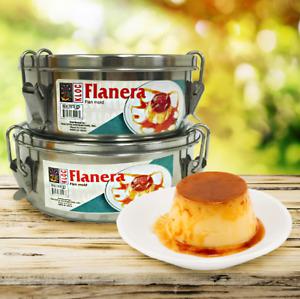 Kloc Flan Mold, Flanera,Flan Maker Stainless Steel Pot Mold Dessert