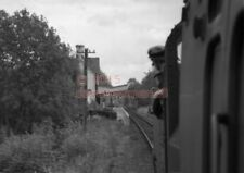 PHOTO  SR RUDGWICK RAILWAY STATION VIEW FROM A TRAIN HAULED BY 41294 APPROACHING