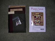 """Puppy Love"" Applique' Wall Quilt Kit by Rachel Pellman"