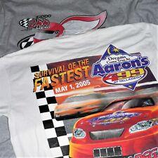 Lot Of 2 Watkins Glen Talladega T-Shirts ~ Nascar 2005 ~ Sz L / Large ~ Nextel
