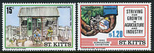 St Kitts 183-184, MNH. Children's Drawings. Agriculture Exhibition, 1986