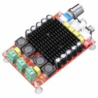 TDA7498 Class D Digital Amplifier Board 2x100W Dual Channel Audio Stereo AM L2Q6