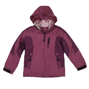 Girls Youth Mossi Flurry Jacket Snow Coat Winter Cold Weather Fuchsia