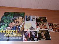 Werbe-Konvolut : Maigret und der Würger von Montmartre- Zustand 1