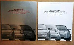 Nice D'Occasion Original Porsche 911 944 928 20 Page Couleur Sales Brochure