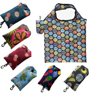 Foldable Shopping Bags Large Capacity Folding Grocery Eco-friendly Portable Bag
