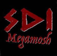 SDI Megamosh Logo Patch Official Thrash Metal New