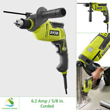 Ryobi 58 In Hammer Drill Driver Variable Speed 62 Amp Corded W 6 Ft Cord Tool