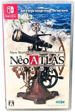 Neo Atlas 1469 [Nintendo Switch Strategy, Explore, Trade, Hidden Treasure] NEW