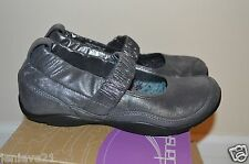 NEW DANSKO MJ Clogs Shoes Comfort Chrissy Shimmer Suede $160 NIB Pewter MaryJane