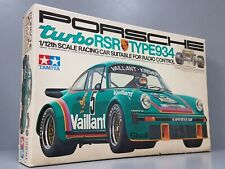 "New Vintage Tamiya R/C 1/12 Porsche RSR 934 Turbo RA-1201 ""1976 Original Kit"""