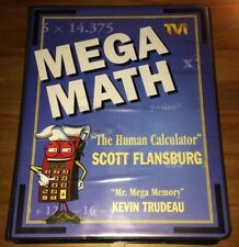 Tvi Mega Math The Human Calculator Workbook Speed Math Kit Set - Free Dvd Cd Mp3