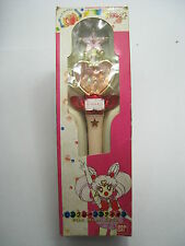 Anime Sailor Moon S Chibi Moon Pink Moon Stick Wand Rod Bandai USED