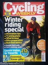 CYCLING WEEKLY - WINTER RIDING - DEC 4 2008