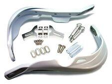 White Dirt Bike ATV Hand Guards For Honda XR XL TRX CRF 250 350 400 600 XR650L