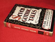 Seven Gothic Tales ~ Isak Dinesen.  HbDj 1934  Modern Library no. 54  FANtastic!