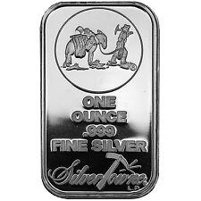 SilverTowne Logo 1oz .999 Fine Silver Bar