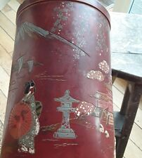 ANTIQUE CHINESE WOODEN BRUSH POT