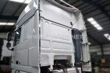 Pour Daf Xf105 Super Espace Cab Acier Périmètre Vent Kit Léger Rayures + Leds