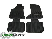 2011-2017 Dodge Charger AWD ALL SEASON RUBBER FLOOR SLUSH MATS SET OEM MOPAR NEW