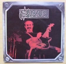 """SAXON BACKS TO THE WALL 7"""" 1980 ISSUE WITH MILITIA GUARD  UK"""