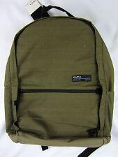 RVCA artist network skate Laptop back pack premium olive book bag